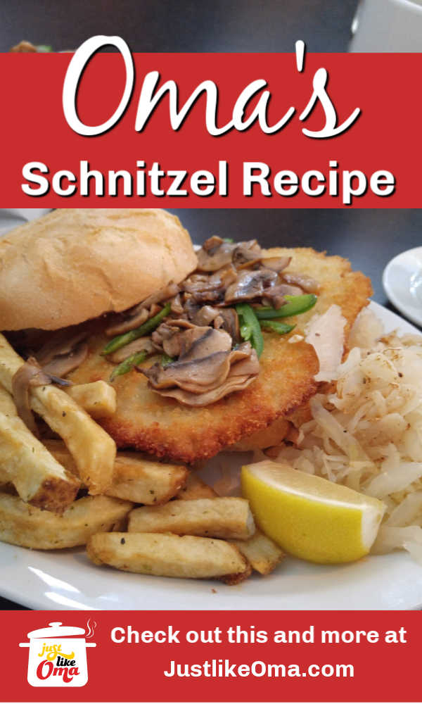 Make this German Pork Schnitzel just like Oma does!