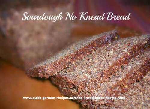 The original no-knead bread. Add all the seeds and grains you want. DELICIOUS! ❤️ #homemadebread #ryebread #germanrecipes #justlikeoma https://www.quick-german-recipes.com/no-knead-bread-recipe.html