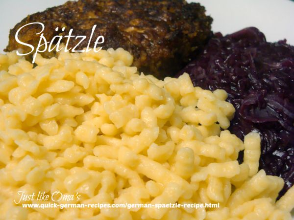 German Spätzle - make your spätzle from scratch