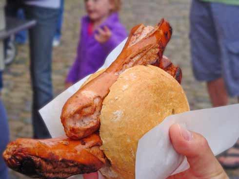 sausage in Freiburg