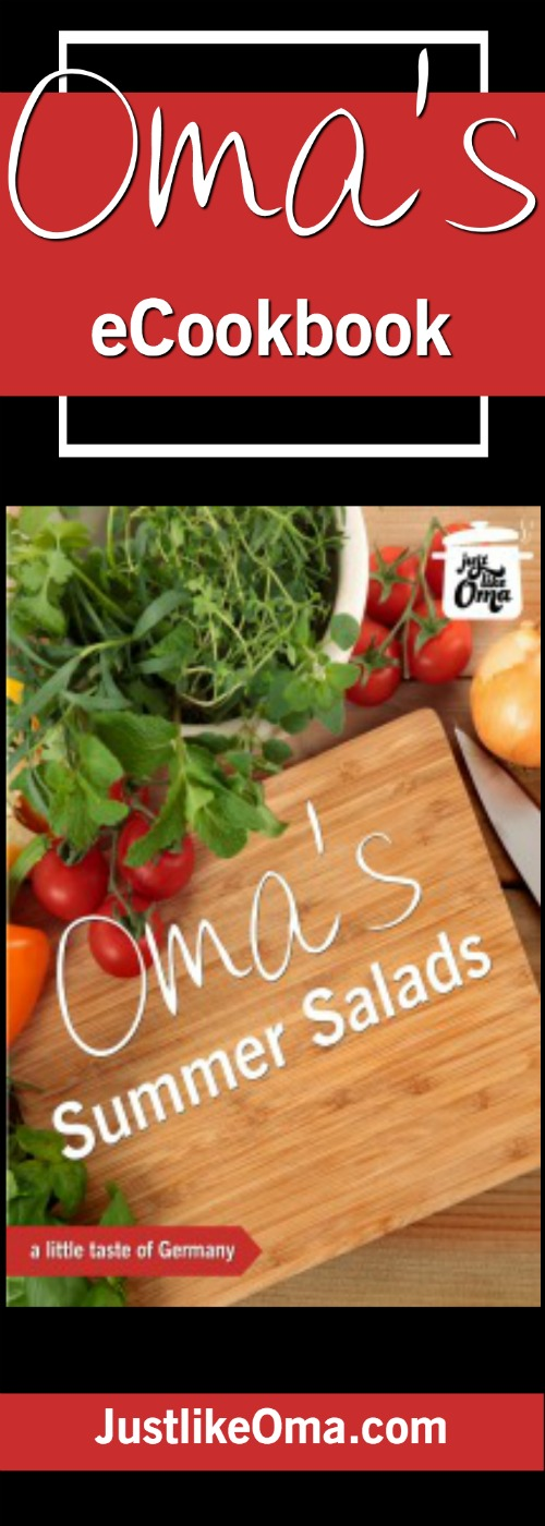 Ready for some REAL summer food? Check out Oma's new collection of her favorite salads: http://www.quick-german-recipes.com/summer-salads.html ❤️