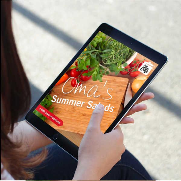Oma's Summer Salads Recipes eCookbook.