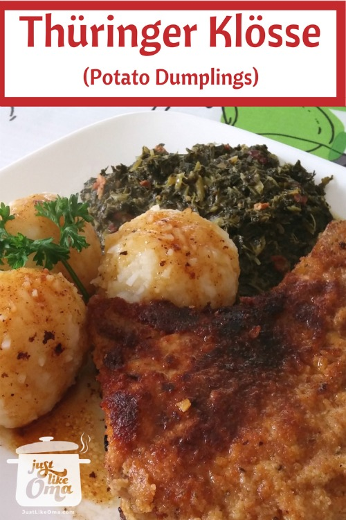 Thüringer Klösse - Potato Dumplings