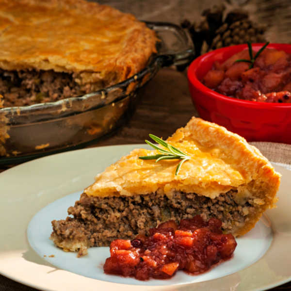 French Canadian Tourtiere Recipe