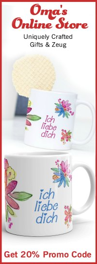 Ich liebe Dich Mugs only available at https://justlikeoma.store/product/ich-liebe-dich-flower-mug/