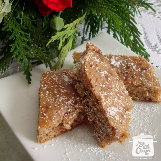 Glühweinplätzchen - Mulled Wine Cookies!