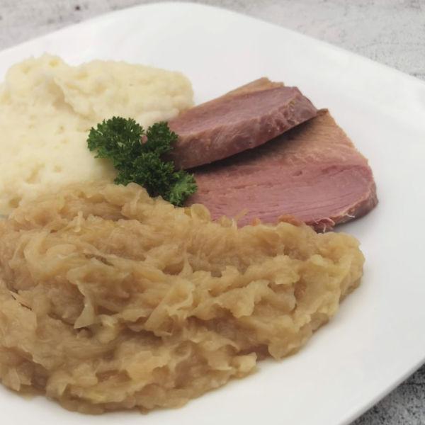 Oma's Peameal Bacon Recipe tastes like Kasseler!