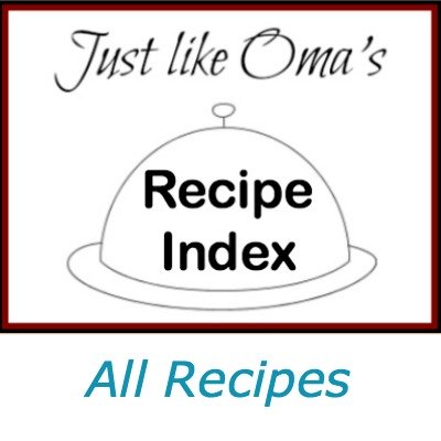 All recipes site map