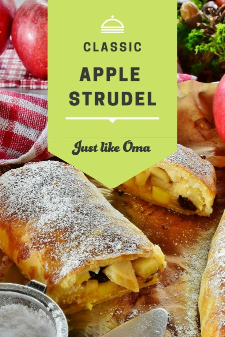 Your recipe calls for German flours and you want to make apple strudel? Oma is here to help!