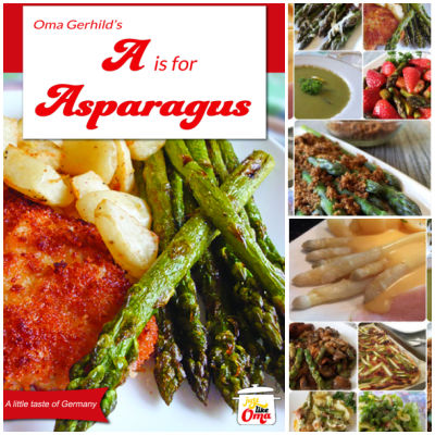 Take a look at Oma's Asparagus eCookbook and enjoy the traditional taste of German cuisine!