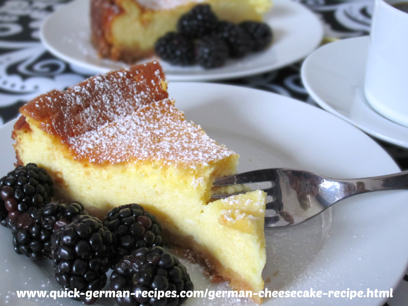 Cheesecake - traditional with homemade quark