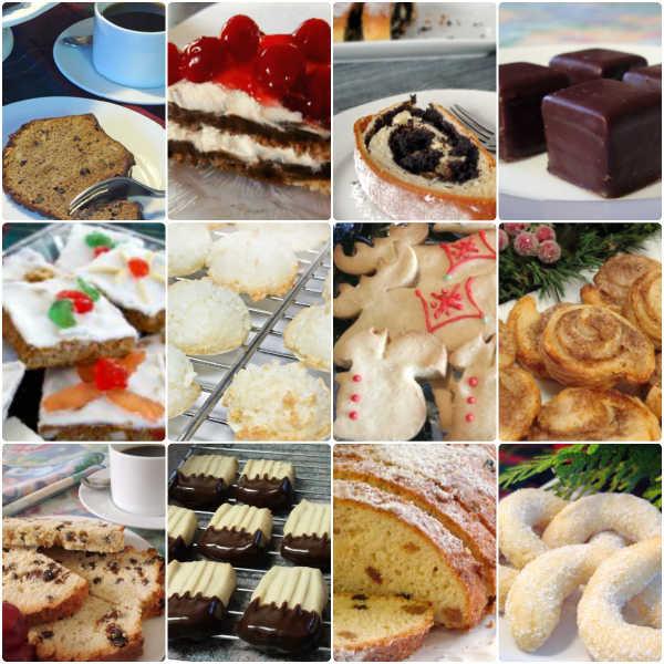 German Christmas Baking Recipes eCookbook.