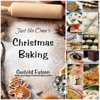 Take a look at Oma's Christmas Baking eCookbook and enjoy the traditional taste of German cuisine!
