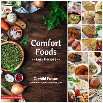 Take a look at Oma's Comfort Foods eCookbook and enjoy the traditional taste of German cuisine!
