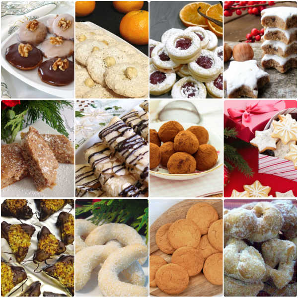 Top 12 German Christmas Cookies eCookbook.