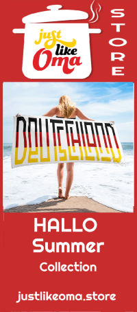 Deutschland Beach Towel from the Hallo Summer Collection