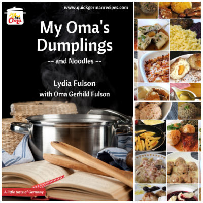 Take a look at My Oma's Dumplings & Noodles eCookbook and enjoy the traditional taste of German cuisine!