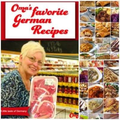 Take a look at Oma's Favorite German Recipes eCookbook and enjoy the traditional taste of German cuisine!