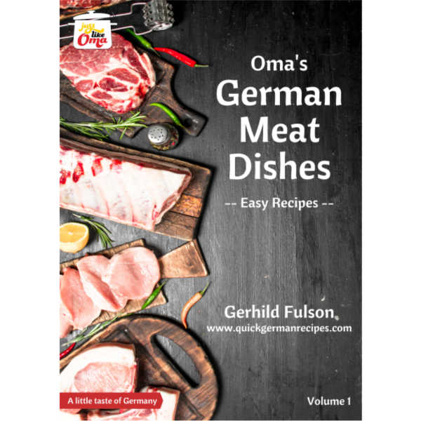 Oma's German Meat Dishes ecookbook