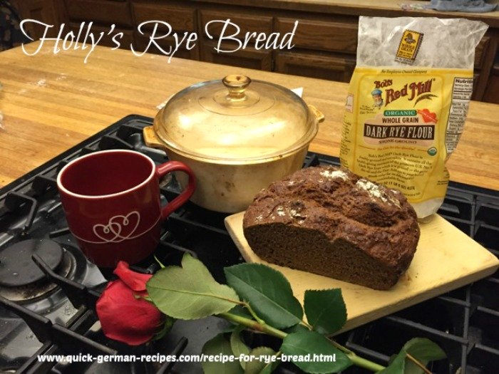 Holly's Recipe for Rye Bread