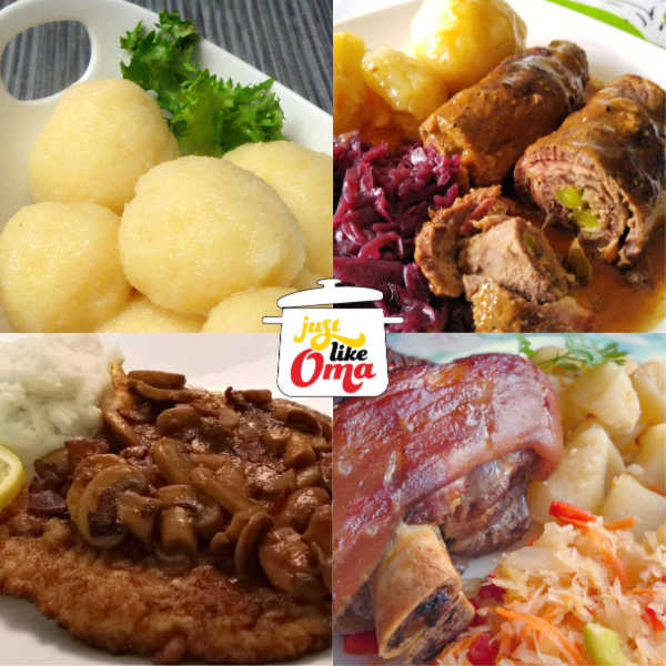 Check out the TOP 10 German food recipes, all easy ones, made just like Oma, using locally available ingredients. Taste just like the ones in Germany.
