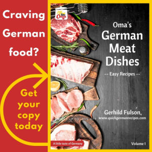 German Meat Dishes eCookbook Vol 1