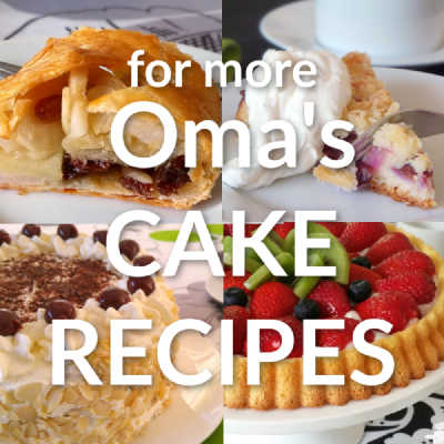 Check out Oma's German Cake recipes right here: https://www.quick-german-recipes.com/german-cake-recipes.html