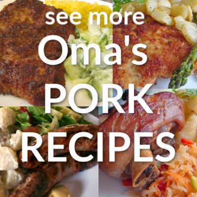 Oma's Pork Recipes