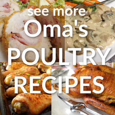 See More of Oma's Poultry Recipes here: https://www.quick-german-recipes.com/german-meat-recipes.html