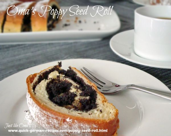 Oma's Poppy Seed Roll
