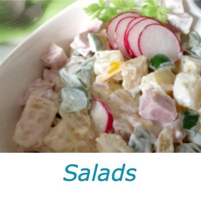 German Salad Recipes