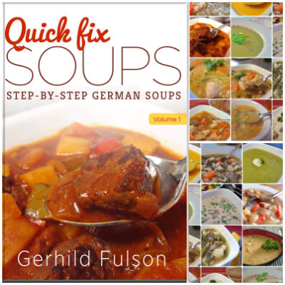 Take a look at Oma's Quick Fix Soups eCookbook and enjoy the traditional taste of German cuisine.