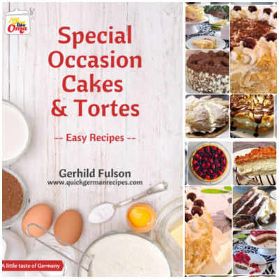 Take a look at Oma's Special Occasion Cakes & Tortes eCookbook and enjoy the traditional taste of German cuisine!
