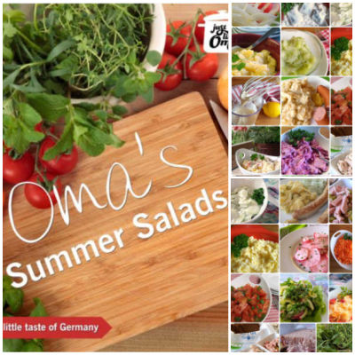 Take a look at Oma's Summer Salads eCookbook and enjoy the traditional taste of German cuisine!