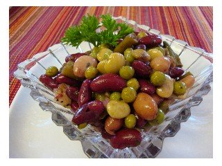 3 Bean Salad - delicious, healthy, great for picnics