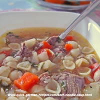Beef Noodle Soup - yummy goodness!
