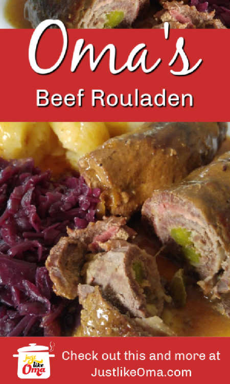 Beef rouladen! A traditional, fun, and scrumptious meal to make