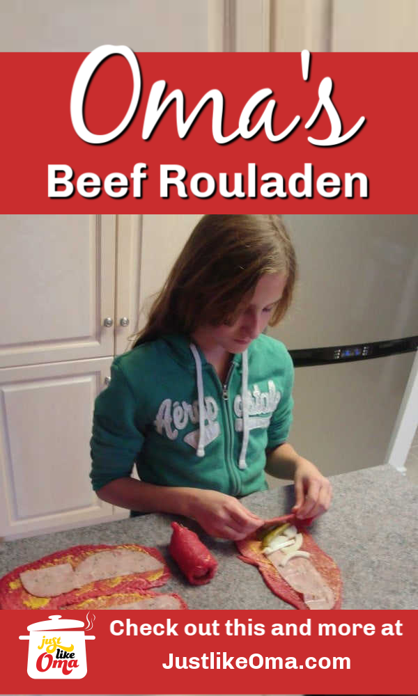 Yummy German beef rouladen! Traditional, fun and delicioius!