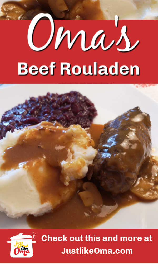 German beef rouladen is such a popular dish. Jam-packed full of flavor!