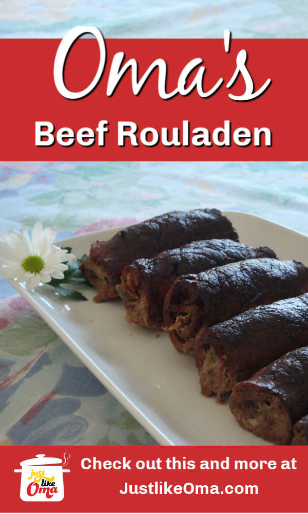Beef Rouladen. THE traditional German food!