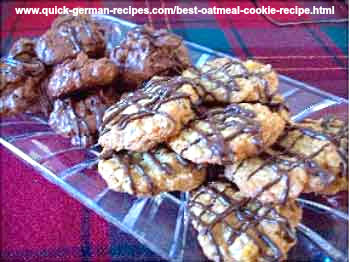 German Cookie Recipes: best oatmeal cookies