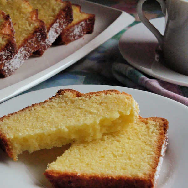 Oma's Sandkuchen is the best pound cake recipe that is so German and so easy.