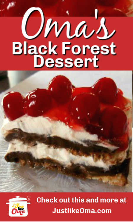 ❤️ Make this easy dessert that tastes like Black Forest Cake, but so much easier to make.