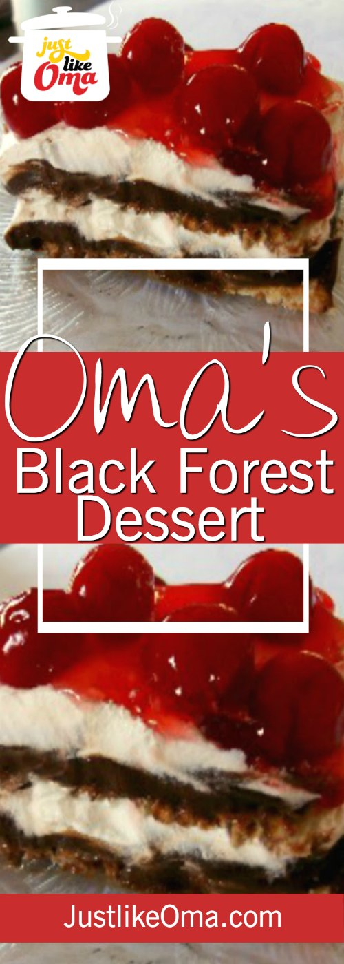 With this Black Forest treat recipe, you get the same taste as the cake but without all the fuss.