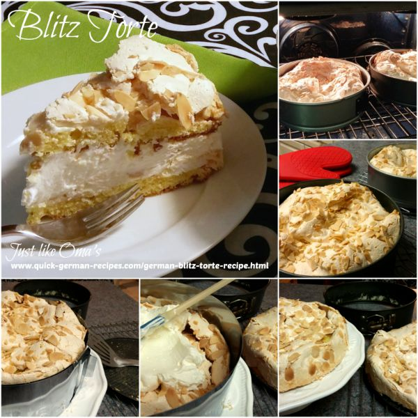 German Cake Recipe: making a Blitz Torte
