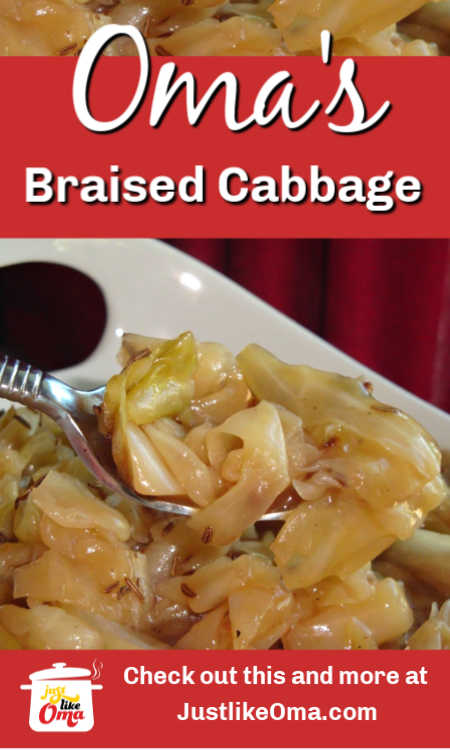 Make this Bavarian braised cabbage just like Oma. With its sweet taste, it's the perfect side dish.