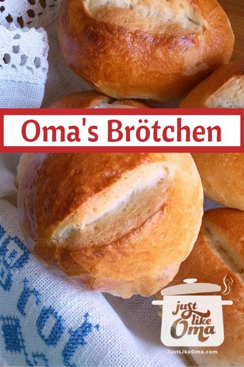 Basket of German Bread Rolls aka Brötchen