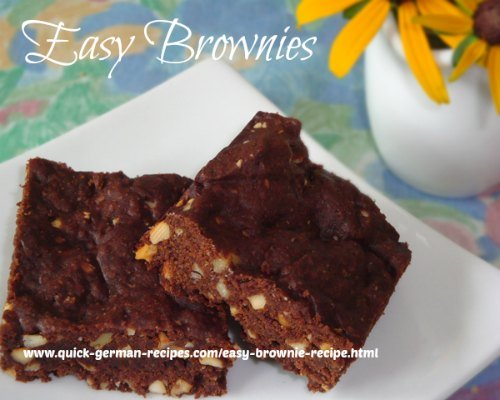 Easy Brownies - chocolate goodness