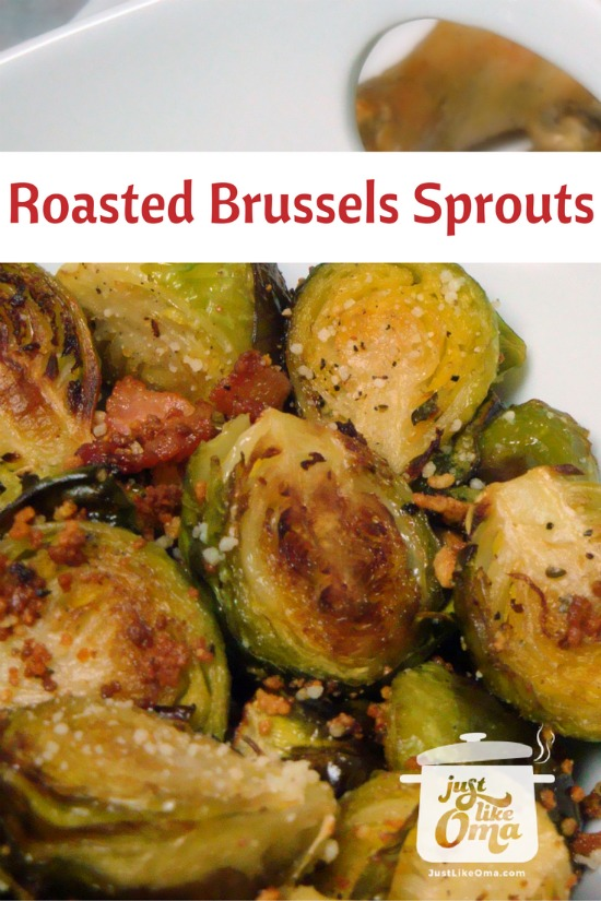 Oma's easy Roasted Brussels Sprouts