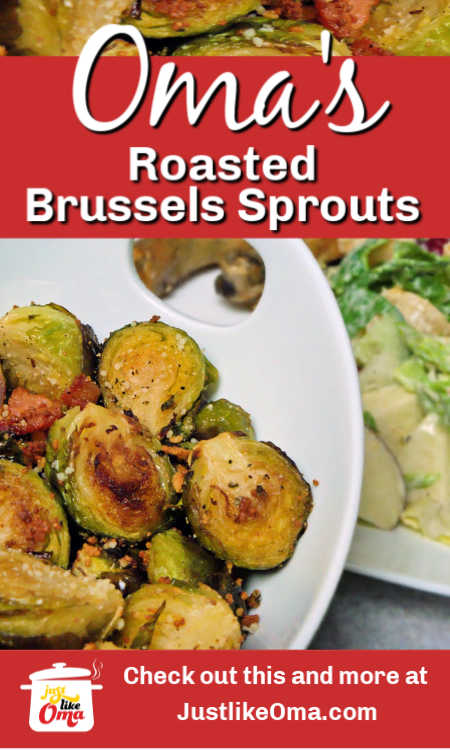 Make Brussels Sprouts that everyone loves. Roasted! These taste so good.